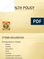 1. Introduction to Health Policy