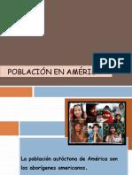 POBLACIÓN EN AMÉRICA
