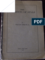The Elements of Style - William Strunk Jr