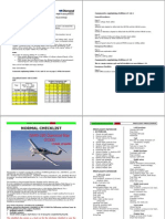 DA40 180 G1000 Checklist Edition 15 A5