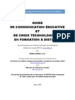 Guide de Communication FAD