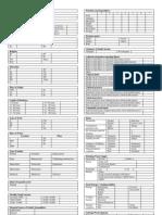 COPAR Tally Sheet