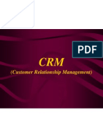 Rationale of CRM