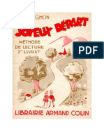 Langue Française Apprentissage Lecture et Ecriture CP Joyeux Depart Livret 2