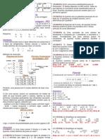 Apostila análise combinatória e Binômio de Newton