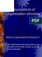 Foundations of Organization Structure