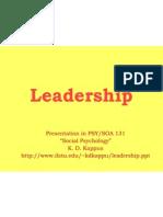 Leadership 22