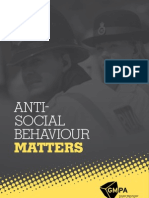 Antisocial Behaviour Matters