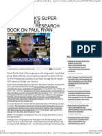 David Brock's Super PAC Releases Opposition Research Book on Pa