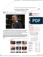 Obama a New Vision of an America in Which Prosperity is Shared