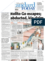 Manila Standard Today -- August 16, 2012 issue