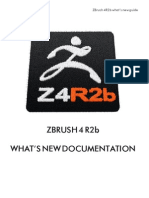 ZBrush4 R2b Whats New