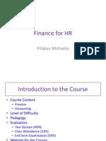 Finance for HR-Intro