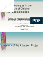 Readiness to Adopt Children with Special Needs