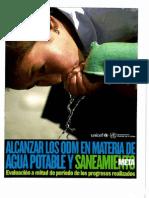 Organización Mundial de la Salud - Meta Agua Potable y Saneamiento