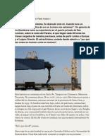 Lingotes en Fuga. Sobre el puerto de La Alumbrera (Juan Pablo Hudson / Ezequiel Gatto)
