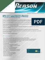 30 Brochure RPV311