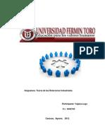Perfil Del Gerente de Relaciones Industriales