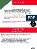 Linux Nedir,Temel Linux Bilgileri