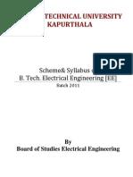 B_Tech Final Scheme 2011