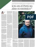 Hernando Soto y Conflicto Social