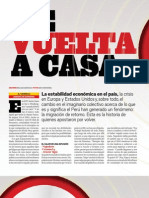 El negocio peruanos que regresan a casa