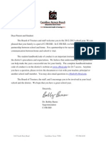 2012-2013 Superintendent Letter