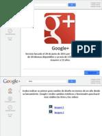 Presentacion Google+