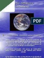 Cambio Climático y Parasitología