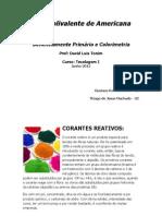 CORANTES REATIVOS - Trabalho de Química - ETEC Polivalente