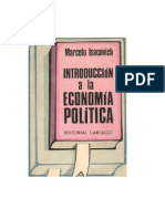 Introduccion a La Economia Politica