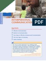 MSL 201 L08b Interpersonal Communication