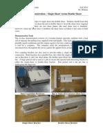 ICD Single v Double Shear