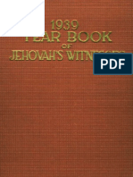 1939 Yearbook of Jehovahs Witnesses