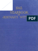 1943 Yearbook of Jehovahs Witnesses