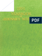 1951 Yearbook of Jehovahs Witnesses