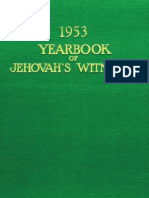1953 Yearbook of Jehovahs Witnesses