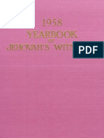 1958 Yearbook of Jehovahs Witnesses