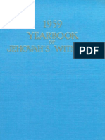 1959 Yearbook of Jehovahs Witnesses