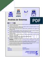 Prova Concurso UFPE - Analista de Sistemas