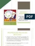Exposicion, Corregida, Equipo 7 Bencenos y Aromaticidad