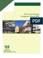Green Communities Compliance Manual 2008