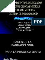 Bases de La Farmacologia