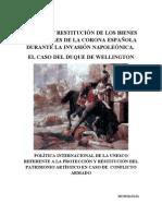 EXPOLIO Y REPOSICIÓN DE LOS BIENES CULTURALES DURANTE LA GUERRA DE LA INDEPENDENCIA ESPAÑOLA II
