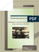 Maskhadov's Cease-Fire Declaration and Peace Overtures, Feb 2005