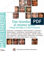 Colección Matices. 2. Dos Mundos bajo un mismo techo: trabajo del hogar y no discriminación.