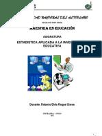 MATERIAL DE LECTURA MAESTRIA EN EDUCACIÓN - ESTADISTICA. - MSC-ELVIS ROQQUE CLAROS