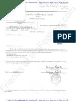 CA - TvS - 2012-08-15 - ECF 21 - Taitz Proof of Receipt of Complaint An