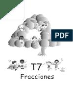 Guatematica 4 - Tema 7 - Fracciones
