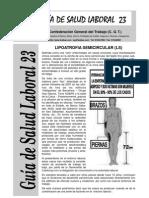 Lipoatrofia Semicircular
